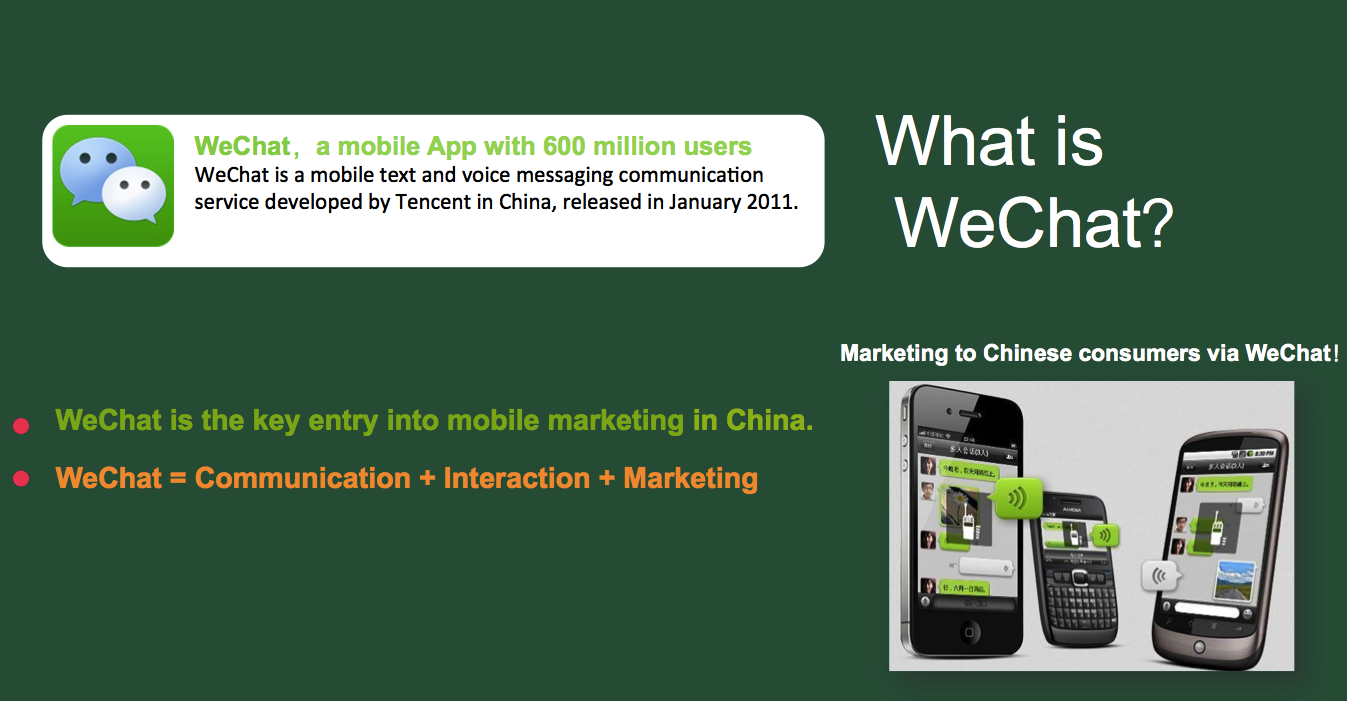 WeChat transcends mobile app status by introducing online purchasing